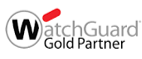 Logotyp Watchguard Gold Partner